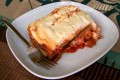 Vegan vegetable moussaka, low carb