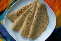 Low carb vegan tortilla wraps