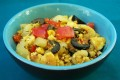 Tofu scramble, low carb vegan