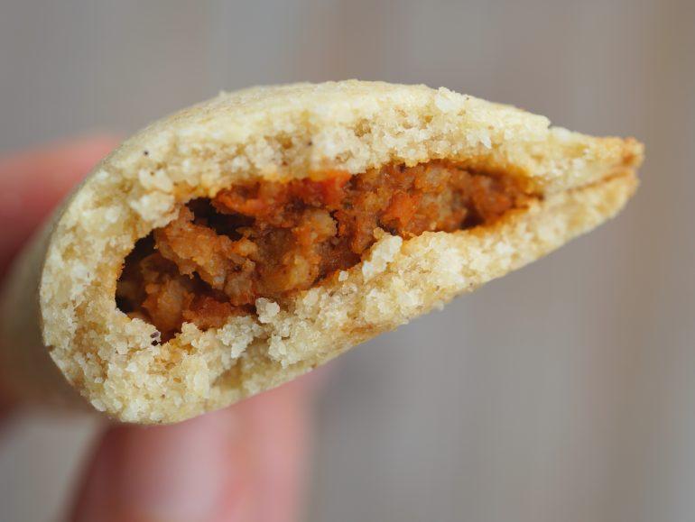 Low carb vegan empanadas